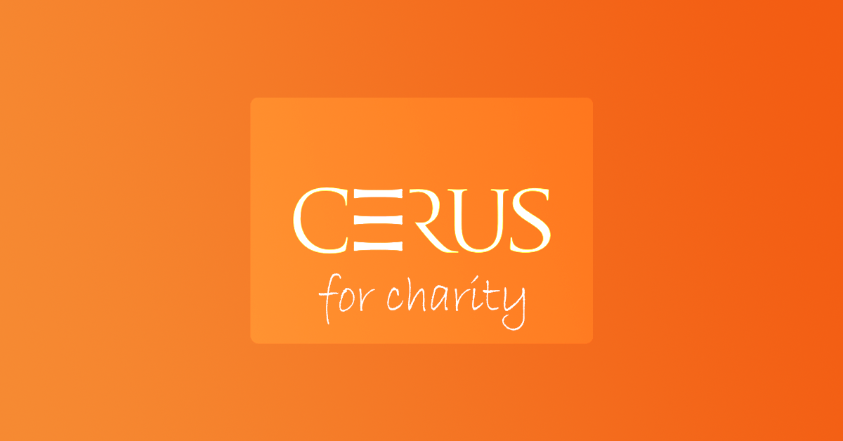Cerus for charity