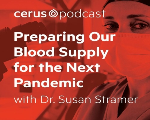 """Preparing our blood supply for the next pandemic"" mit Dr. Susan Stramer"